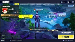 Showing my account (FORTNITE) Skin of the rarest black Knight!!!