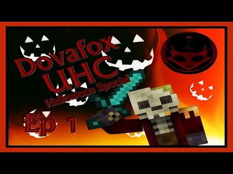 Dovafox UHC Halloween Special - Ep 1 Spooky start