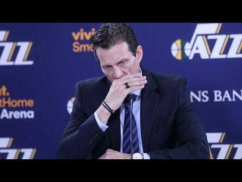 Quin Snyder Postgame Interview / Jazz vs Knicks / Jan 19