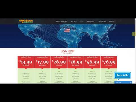 Buy RDP with BitCoin   AMinServe