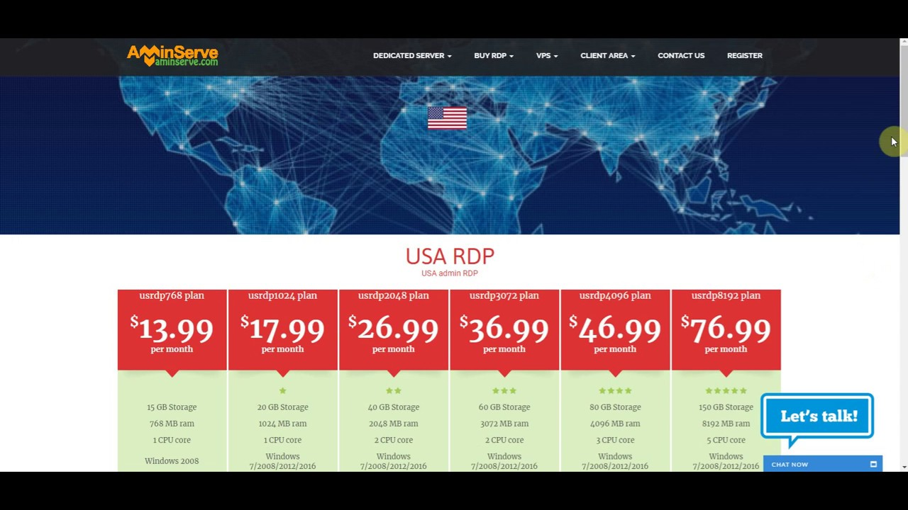 Buy RDP with BitCoin | AMinServe