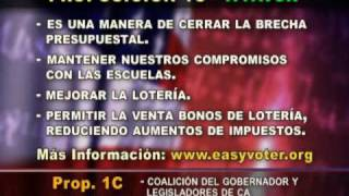 Proposición 1C  (May 19, 2009 CA elections)