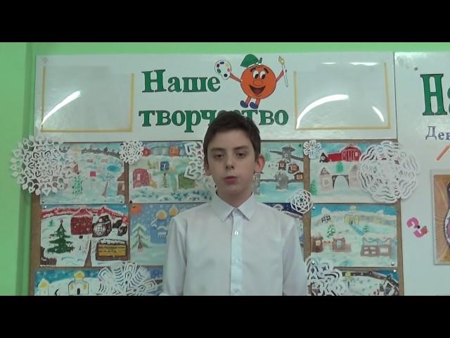 Изображение предпросмотра прочтения – ВадимШамбер читает отрывок изпроизведения «Бородино» М.Ю.Лермонтова