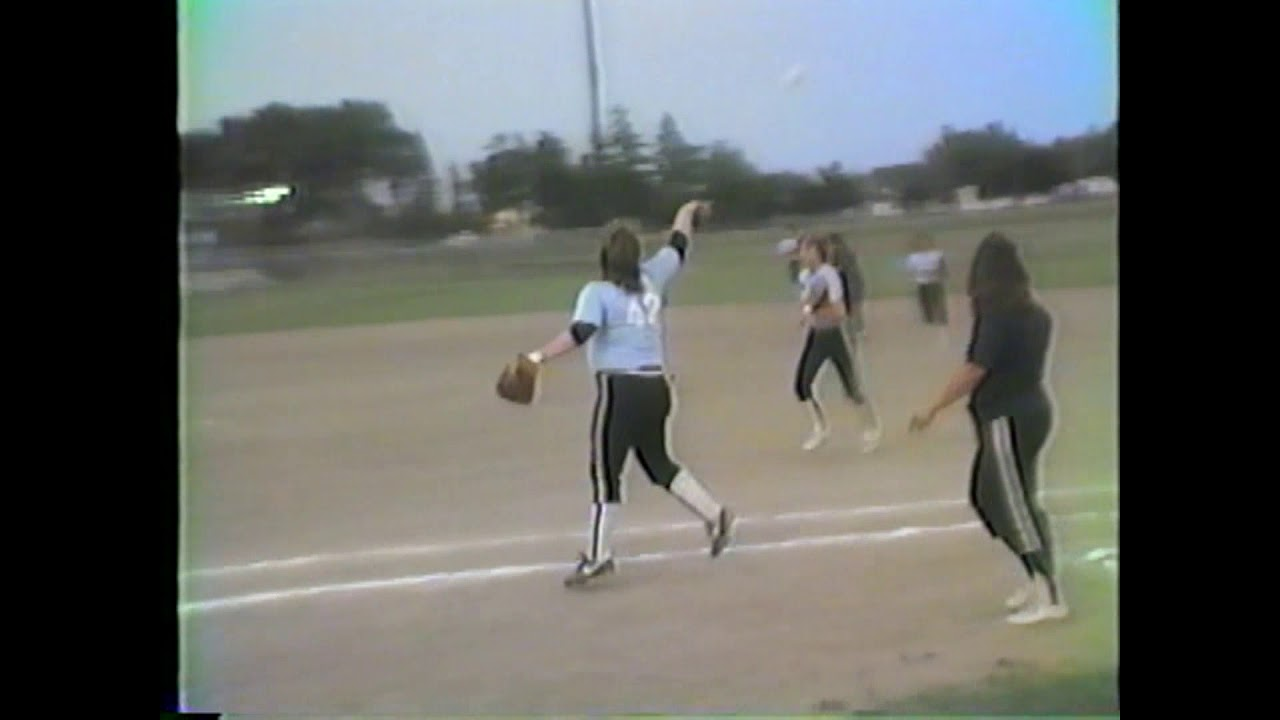 Women's Softball All Stars  6-25-87