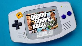 Grand Theft Auto 5 (GTA V) on Game Boy Advance