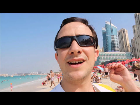 Vlog: Dubai travel guide: JBR beach! A walk to remember! SATRA nu stie asta!