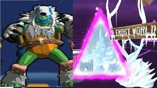 Черепашки Ниндзя Сила порталов #4 мультик игра о черепашках ниндзи мутантах TMNT Portal Power