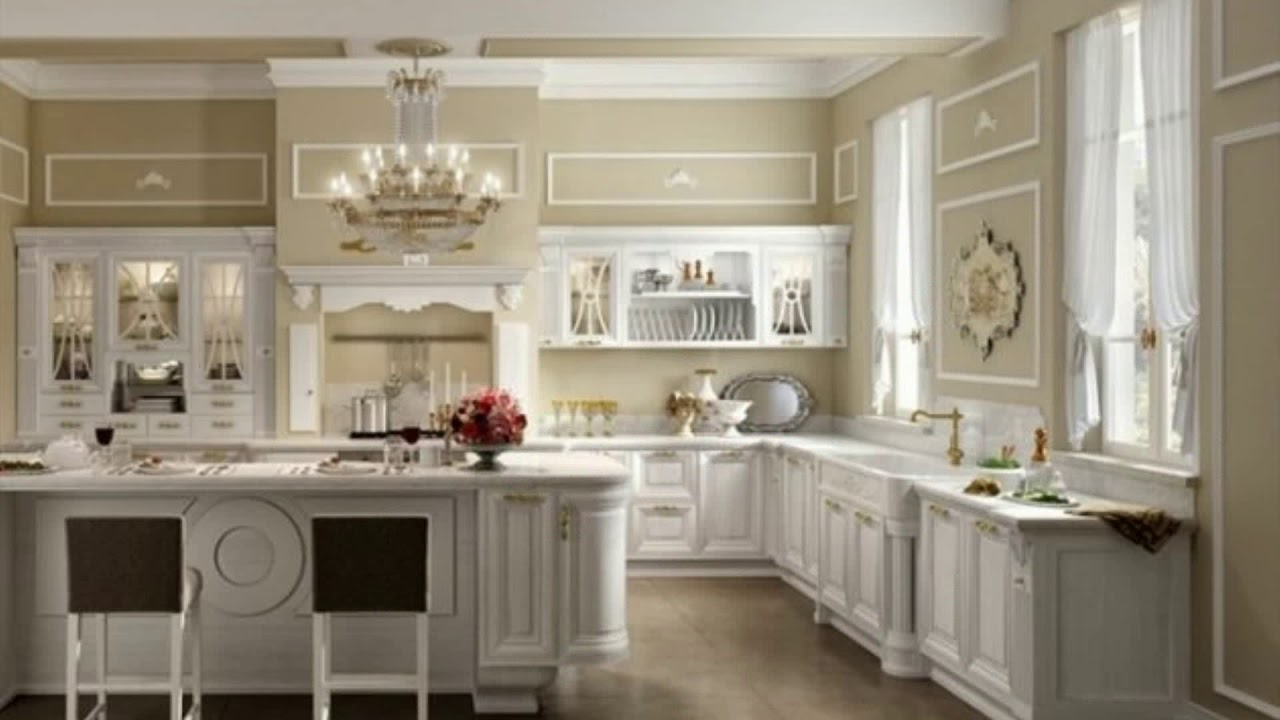 meuble cuisine shabby chic youtube. Black Bedroom Furniture Sets. Home Design Ideas