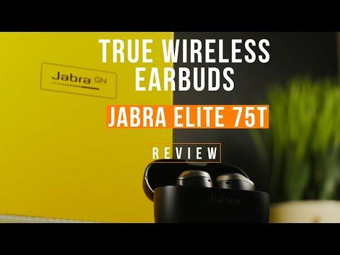 Jabra Elite 75t True Wirless Earbuds Review