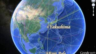 1013C Pohnpei Is and Yakushima Is are man-arranged twin Islands...