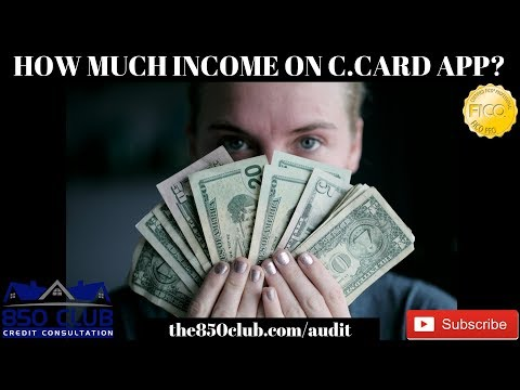 What Income Do You Put On A Credit Card Application? American Express,Capital One,MyFico,Cashback