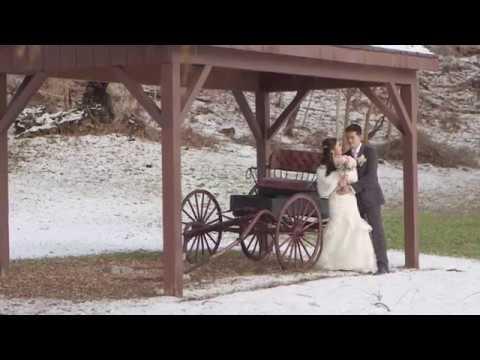 Toronto Filipino Winter Wedding Video at Fantasy Farm