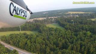 Flyzone Calypso Glider Flight with On Board GoPro HD2 Video
