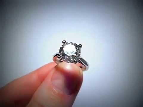Кольцо с бриллиантом 3,01 карата - YouTube aee3c4bac25