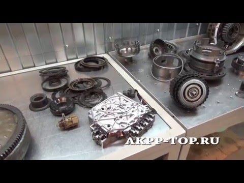 Фото к видео: Ремонт АКПП Фольксваген Шаран 01P (1080p)
