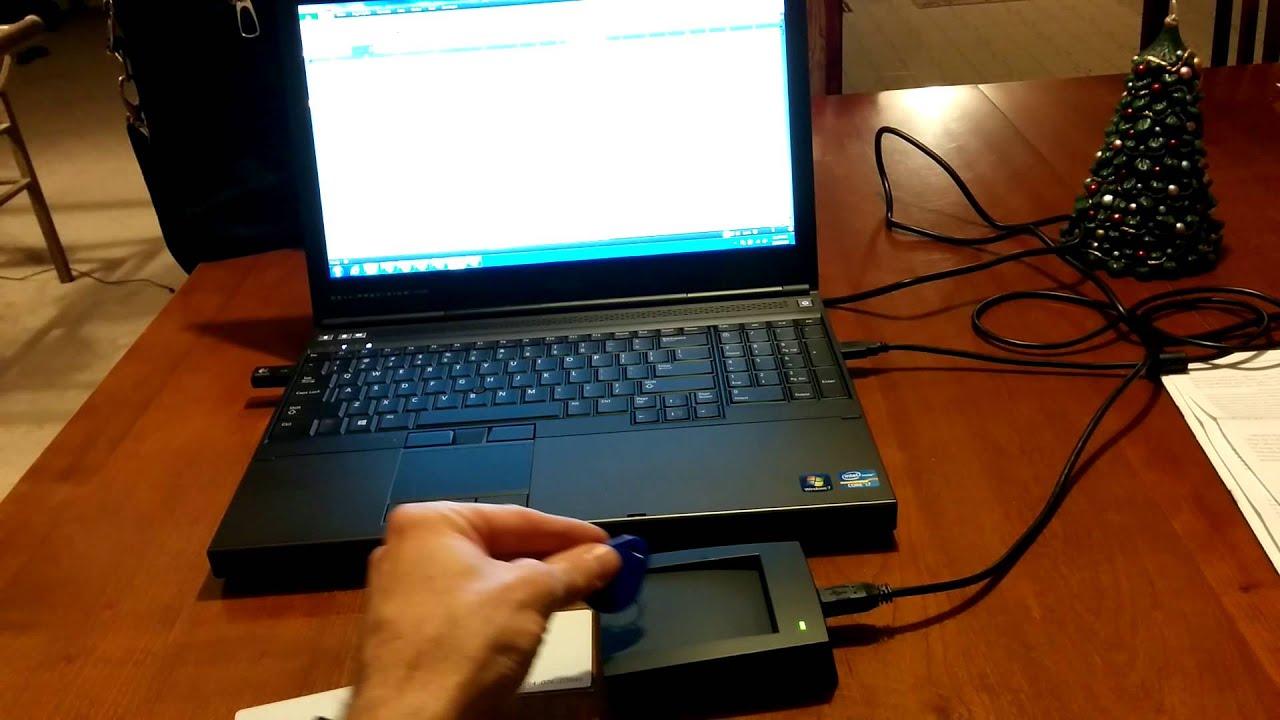 RFID Scanner reading into Excel for time clock program