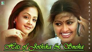Hits of Sneha & jothika Tamil Super Audio Jukebox