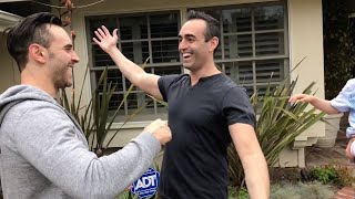 Man Surprises Brother By Moving To Same City