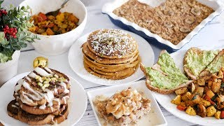 4 EASY WINTER/HOLIDAY INSPIRED BREAKFAST RECIPES | HEALTHY & DELICIOUS
