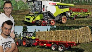 """Nowy Claas Lexion 8900 oraz samozbierająca do bel!! ✔FS19 """"od Zera do Farmera""""#183 MafiaSolecTeam"""