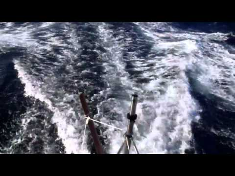 Bruce Roberts 65 Surfing to 17.5 knots.