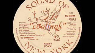 """Kinky Foxx - So Different (12"""" Funk 1983)"""