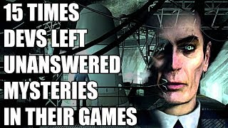 15 Times Developers Left Unanswered Mysteries In Video Games