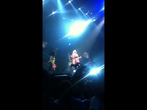 Toxic Femme Fatale Tour Montreal 2011 Britney Spears