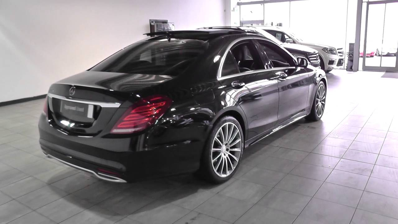 mercedes benz s 350 d amg line auto u45389 youtube. Black Bedroom Furniture Sets. Home Design Ideas