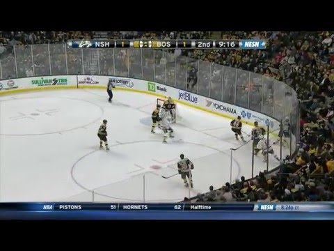 James Neal dives, ref calls him out 12/7/15