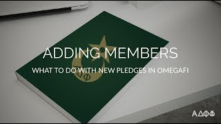 Adding New Member