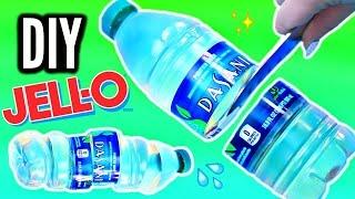 diy gummy water bottle crystal clear jelly bottle