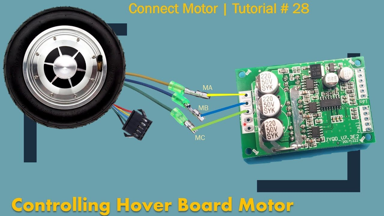 BLDC Hover Board Motor Controller | Part 1| Tutorial # 28