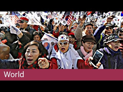 South Korea in political turmoil