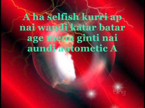 juttni billy x lyrics by Shazeem Mir