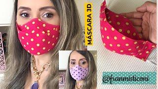 Máscara Proteção 3D com Encaixe Perfeito
