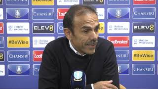 POST-MATCH | Sheffield Wednesday v Stoke City | Jos Luhukay