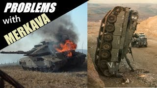 Problems with Merkava tank