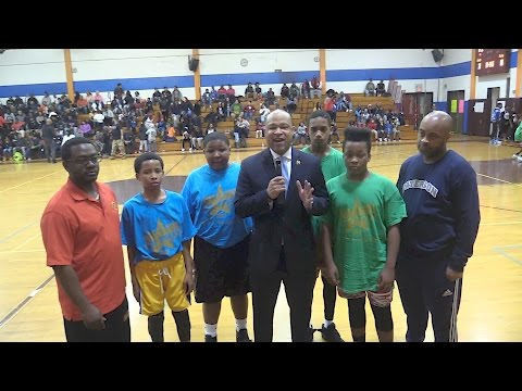 The Rec. Show....Paterson Division Of Recreation All Stars 2017 Basketball Games