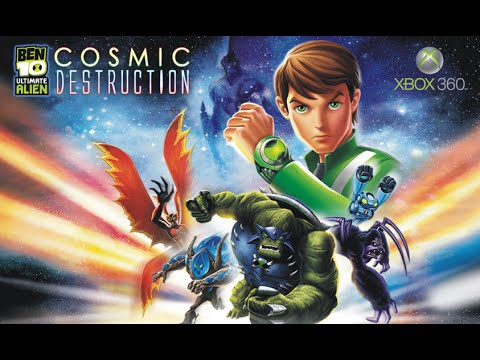 Ben 10 Ultimate Alien Cosmic Destruction - Xbox 360 ‹ SAMMYJUKA ›