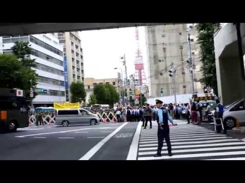 Japanese Right Wing Protests - Uyoku - 右翼団体