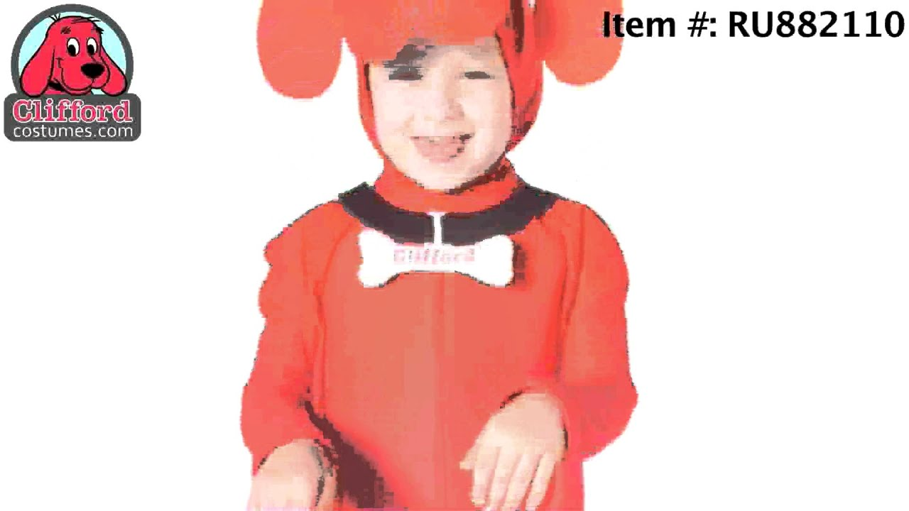 Clifford the Big Red Dog Halloween Costumes - YouTube
