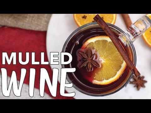 MULLED WINE RECIPE | Gluhwein Recipe | Holiday Drink Ideas | The Edgy Veg