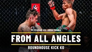 Petchdam Vs. Josh Tonna   ONE From All Angles