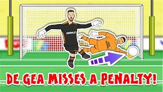 😢DE GEA PENALTY MISS!😢 Villareal win the Europa League Final (Goals Highlights Moreno Man Utd)