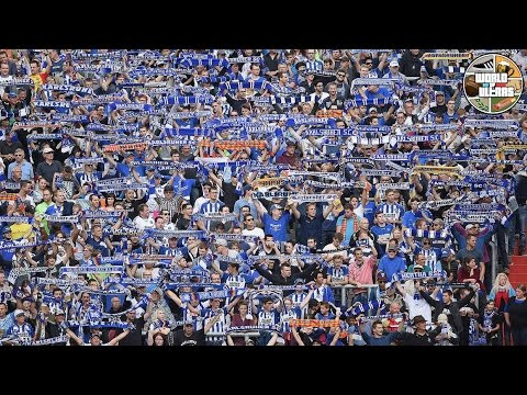Karlsruhe fans' new chant for their banned lads