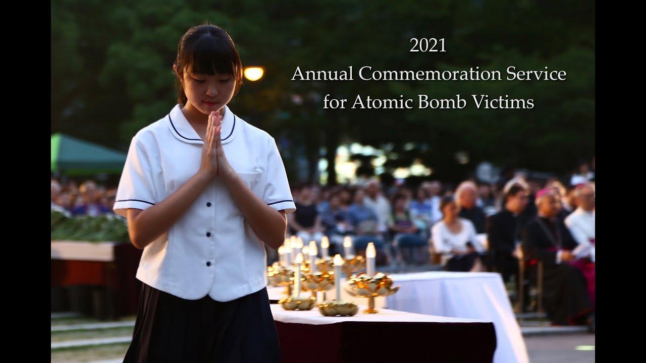 2021 ASA Commemoration Service for Atomic Bomb Victims.