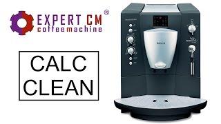чистка от накипи и кофейных масел кофемашины Bosch TCA 5401