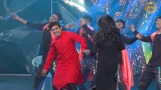 Nitin Jani and Team Jigli & khajoor performence Khichdi song at GIFA 2017