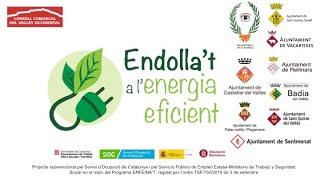 Taller Endolla't a l'Energía Eficient tercera part.